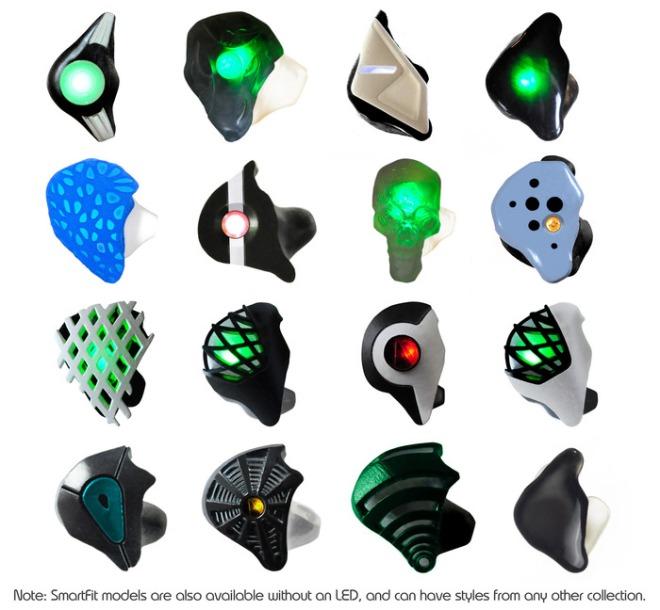 אוזניות בעיצוב אישי. איזה מודל תבחרו? במקור מאתר גיוס ההמונים.